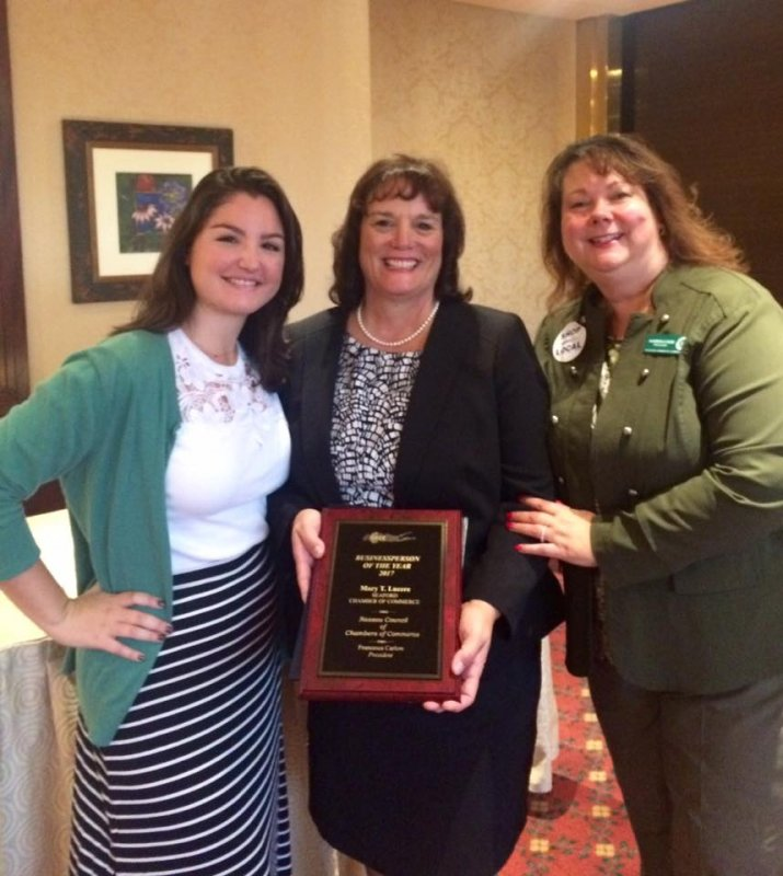 2017-Business-person-of-the-year-Mary-dauhter-me-and-plaque
