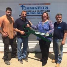 2017-Chamber-Ribbon-cutting-Tumminello-Plumbing-1